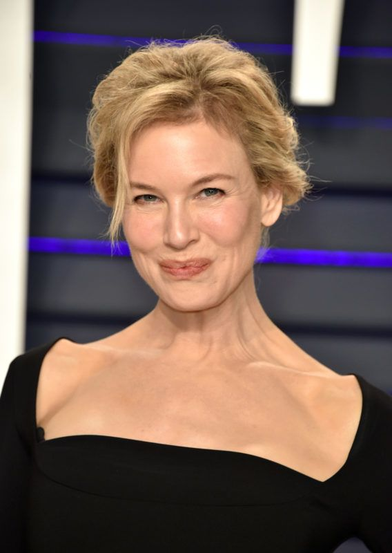 BEVERLY HILLS, CA - FEBRUARY 24:  Renee Zellweger attends the 2019 Vanity Fair Oscar Party hosted by Radhika Jones at Wallis Annenberg Center for the Performing Arts on February 24, 2019 in Beverly Hills, California.  (Photo by John Shearer/Getty Images)