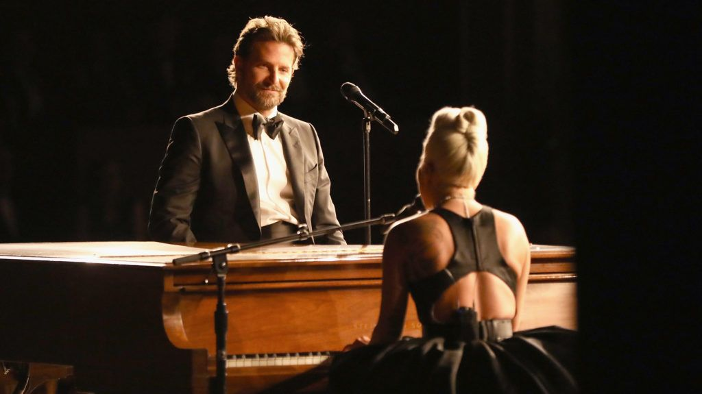 HOLLYWOOD, CA - FEBRUARY 24:  In this handout provided by A.M.P.A.S., Bradley Cooper and Lady Gaga perform onstage during the 91st Annual Academy Awards at the Dolby Theatre on February 24, 2019 in Hollywood, California.  (Photo by Matt Sayles - Handout/A.M.P.A.S. via Getty Images)