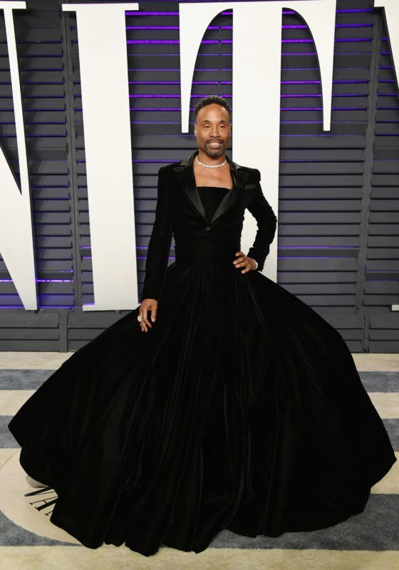 BEVERLY HILLS, CA - FEBRUARY 24:  Billy Porter attends the 2019 Vanity Fair Oscar Party hosted by Radhika Jones at Wallis Annenberg Center for the Performing Arts on February 24, 2019 in Beverly Hills, California.  (Photo by Jon Kopaloff/WireImage)