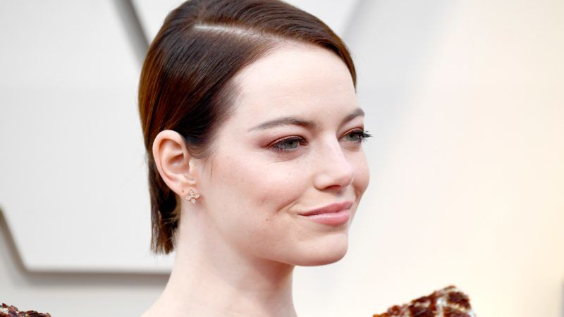 HOLLYWOOD, CALIFORNIA - FEBRUARY 24: Emma Stone attends the 91st Annual Academy Awards at Hollywood and Highland on February 24, 2019 in Hollywood, California. (Photo by Frazer Harrison/Getty Images)