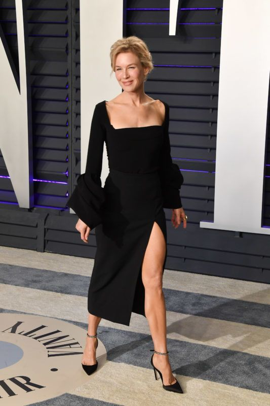 BEVERLY HILLS, CALIFORNIA - FEBRUARY 24: Renee Zellweger attends the 2019 Vanity Fair Oscar Party hosted by Radhika Jones at Wallis Annenberg Center for the Performing Arts on February 24, 2019 in Beverly Hills, California. (Photo by George Pimentel/Getty Images)