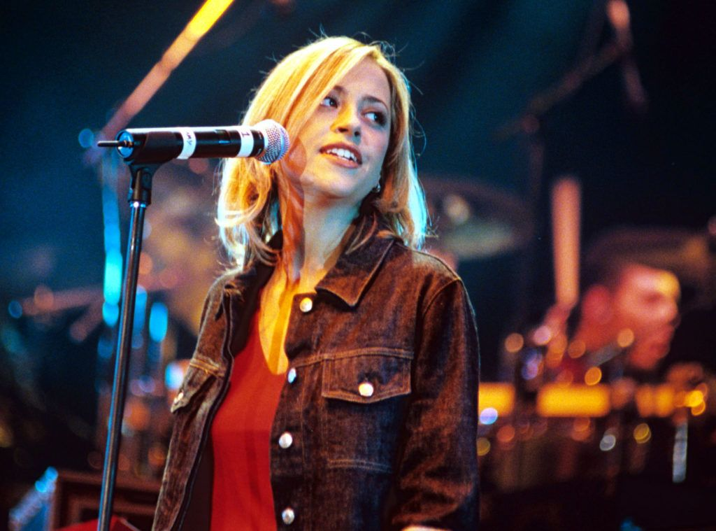 The Concert Of Hope Charity Concert, London, Britain - 1997, All Saints - Nicole Appleton (Photo by Brian Rasic/Getty Images)