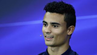 SUZUKA, JAPAN - OCTOBER 05:  Pascal Wehrlein of Germany and Sauber F1 in the Drivers Press Conference during previews ahead of the Formula One Grand Prix of Japan at Suzuka Circuit on October 5, 2017 in Suzuka.  (Photo by Lars Baron/Getty Images)