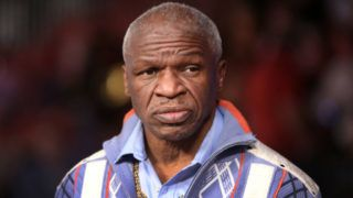 LAS VEGAS, NV - FEBRUARY 17:  Boxing trainer Floyd Mayweather Sr. waits for the start of a welterweight boxing match between Danny Garcia and Brandon Rios at the Mandalay Bay Events Center on February 17, 2018 in Las Vegas, Nevada. (Photo by Steve Marcus/Getty Images)