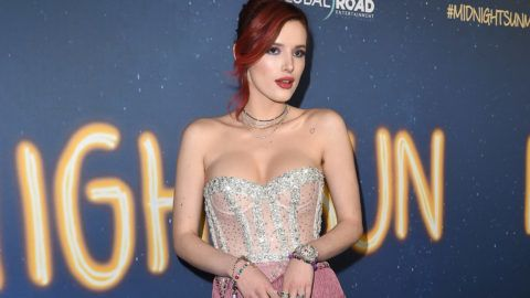 HOLLYWOOD, CA - MARCH 15:  Actress Bella Thorne attends Global Road Entertainment's world premiere of 'Midnight Sun' at ArcLight Hollywood on March 15, 2018 in Hollywood, California.  (Photo by Axelle/Bauer-Griffin/FilmMagic)