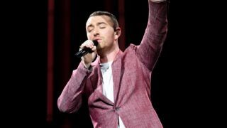 LONDON, ENGLAND - APRIL 06:  Sam Smith performs live on stage at The O2 Arena on April 6, 2018 in London, England.  (Photo by Gareth Cattermole/Getty Images)