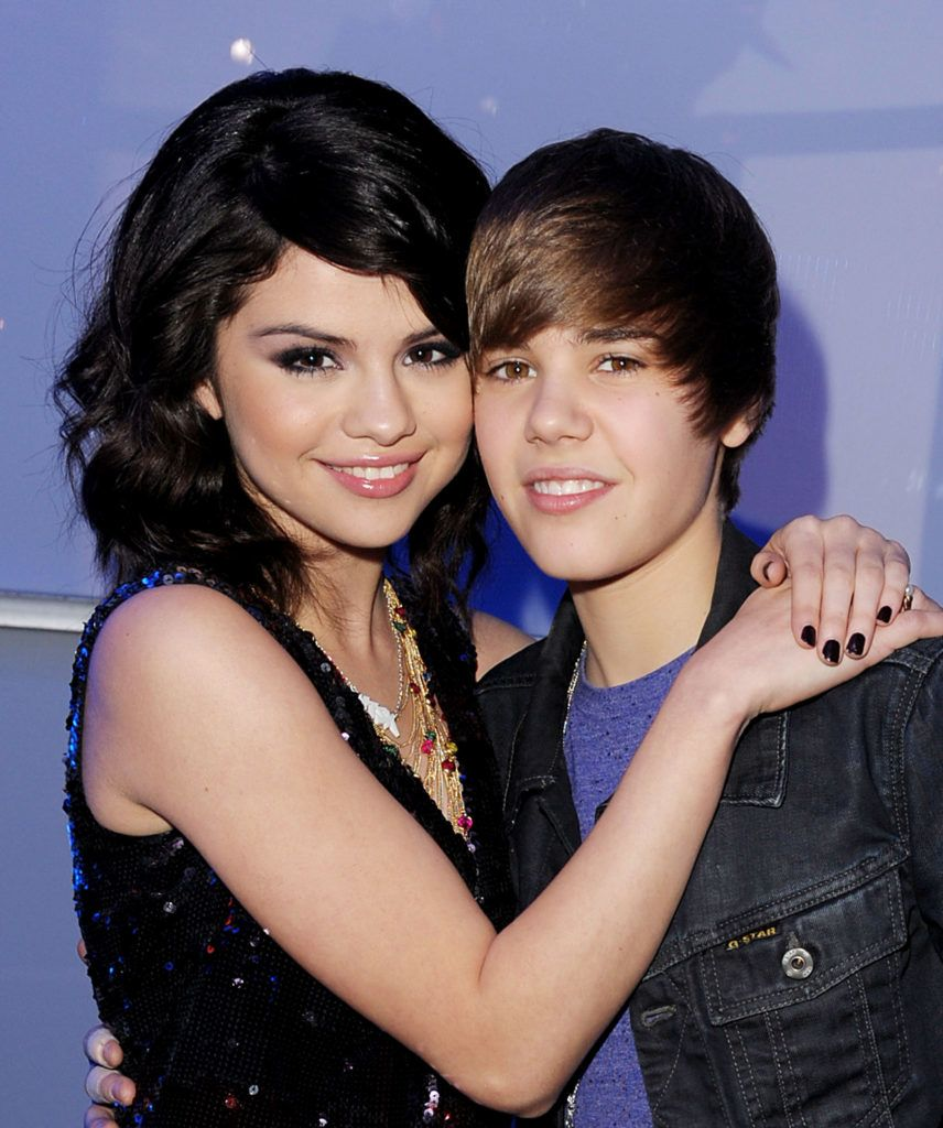 LAS VEGAS - DECEMBER 31:  Singers Selena Gomez (L) and Justin Bieber attend Dick Clark's New Year's Rockin' Eve With Ryan Seacrest 2010 at Aria Resort & Casino at the City Center on December 31, 2009 in Las Vegas, Nevada.  (Photo by Kevin Winter/DCNYRE2010/Getty Images for DCP)