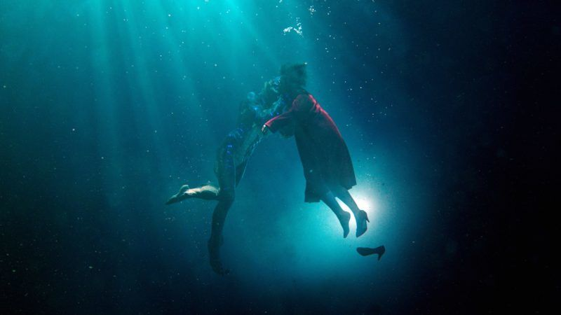 The Shape of Water Year : 2017 USA Director : Guillermo del Toro Doug Jones , Sally Hawkins  . It is forbidden to reproduce the photograph out of context of the promotion of the film. It must be credited to the Film Company and/or the photographer assigned by or authorized by/allowed on the set by the Film Company. Restricted to Editorial Use. Photo12 does not grant publicity rights of the persons represented.