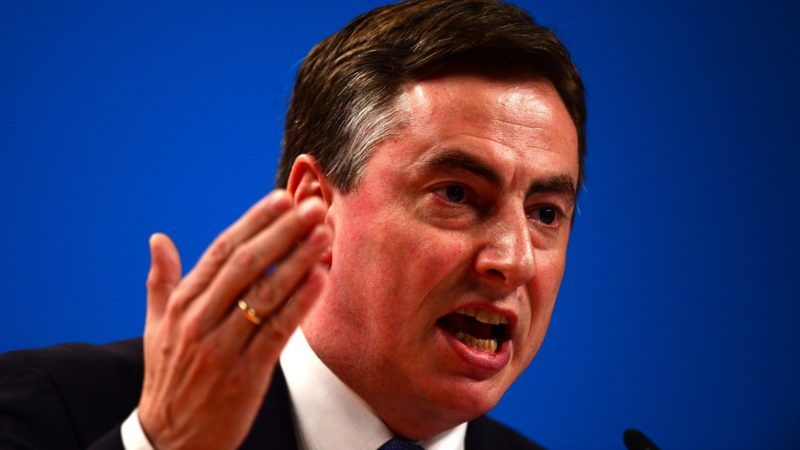 David McAllister, Primier of the state of Lower Saxony attends the Christian Democratic Union (CDU) party congress in Cologne, western Germany, on December 9, 2014. Merkel was reelected for the 8th time with 96, 72 percent of votes. AFP PHOTO / JOHN MACDOUGALL (Photo by JOHN MACDOUGALL / AFP)