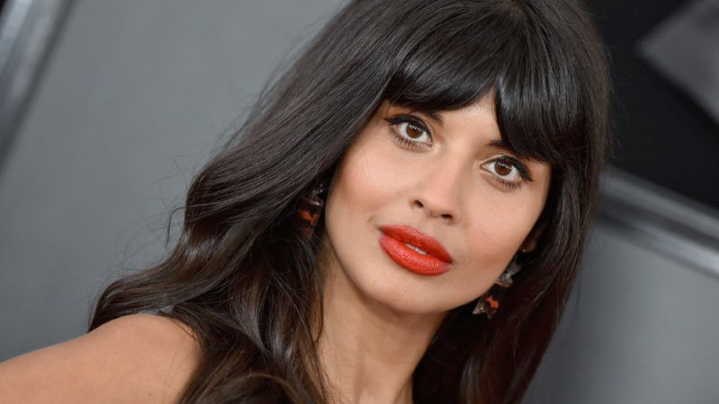 LOS ANGELES, CALIFORNIA - FEBRUARY 10: Jameela Jamil attends the 61st Annual GRAMMY Awards at Staples Center on February 10, 2019 in Los Angeles, California. (Photo by Axelle/Bauer-Griffin/FilmMagic)