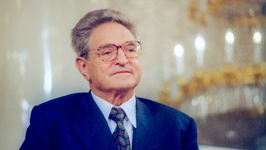 Moscow, Russia. The Pilalr Hall of the House of the Unions hosted the celebration of the 10th anniversary of American financier George Soros' Open Society Foundations. George Soros donated a total of 350 million dollars, thus promoting science, education and culture in Russia. Boris Kavashkin/TASS