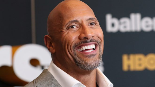 """MIAMI BEACH, FL - JULY 14:  Dwayne Johnson attends the HBO """"Ballers"""" Season 2 Red Carpet Premiere and Reception on July 14, 2016 at New World Symphony in Miami Beach, Florida.  (Photo by Aaron Davidson/Getty Images for HBO)"""