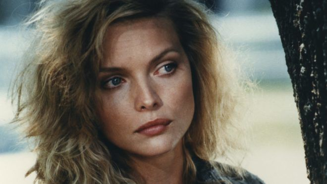 American actress Michelle Pfeiffer on the set of The Witches of Eastwick directed by Australian George Miller. (Photo by Sunset Boulevard/Corbis via Getty Images)