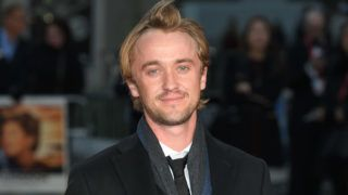 LONDON, ENGLAND - OCTOBER 05:  Tom Felton attends the 'A United Kingdom' Opening Night Gala screening during the 60th BFI London Film Festival at Odeon Leicester Square on October 5, 2016 in London, England.  (Photo by Karwai Tang/WireImage)