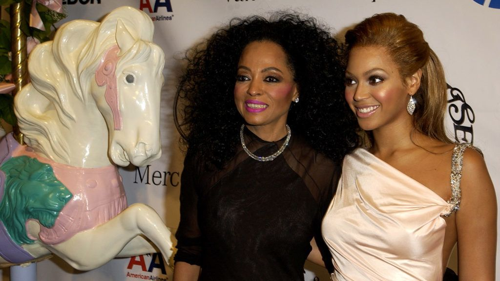 Diana Ross and Beyonce (Photo by M. Caulfield/WireImage)