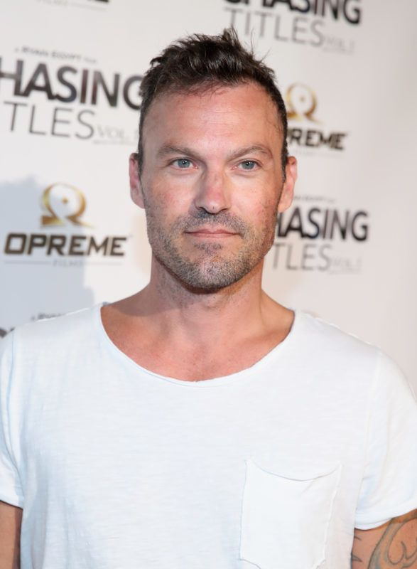 LOS ANGELES, CA - SEPTEMBER 14:  Brian Austin Green at the Chasing Titles Vol. premiere on September 14, 2017 in Los Angeles, California.  (Photo by Jonathan Leibson/Getty Images for Opreme Productions)