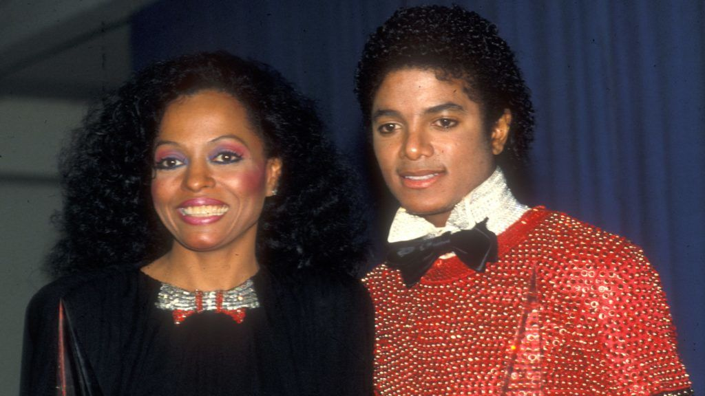 Diana Ross  & Michael Jackson at the American Music Awards (Photo by Barry King/WireImage)