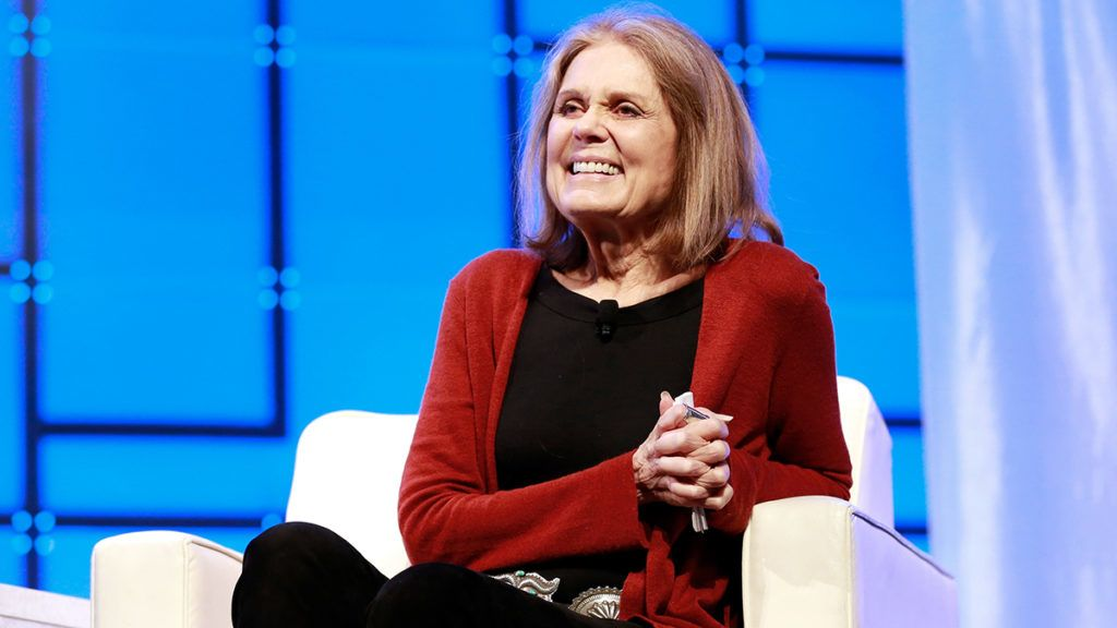 BOSTON, MA - DECEMBER 07:  Activist Gloria Steinem speaks during the Massachusetts Conference for Women 2017 at the Boston Convention Center on December 7, 2017 in Boston, Massachusetts.  (Photo by Marla Aufmuth/Getty Images for Massachusetts Conference for Women)