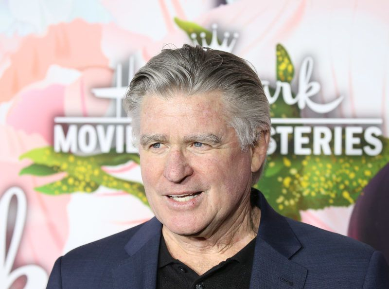 PASADENA, CA - JANUARY 13:  Treat Williams arrives to the Hallmark Channel and Hallmark Movies and Mysteries Winter 2018 TCA Press Tour held at Tournament House on January 13, 2018 in Pasadena, California.  (Photo by Michael Tran/Getty Images)