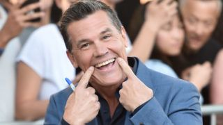 """WESTWOOD, CA - JUNE 26:  Actor Josh Brolin attends the premiere of Columbia Pictures' """"Sicario: Day Of The Soldado""""  at Regency Village Theatre on June 26, 2018 in Westwood, California.  (Photo by Alberto E. Rodriguez/Getty Images)"""