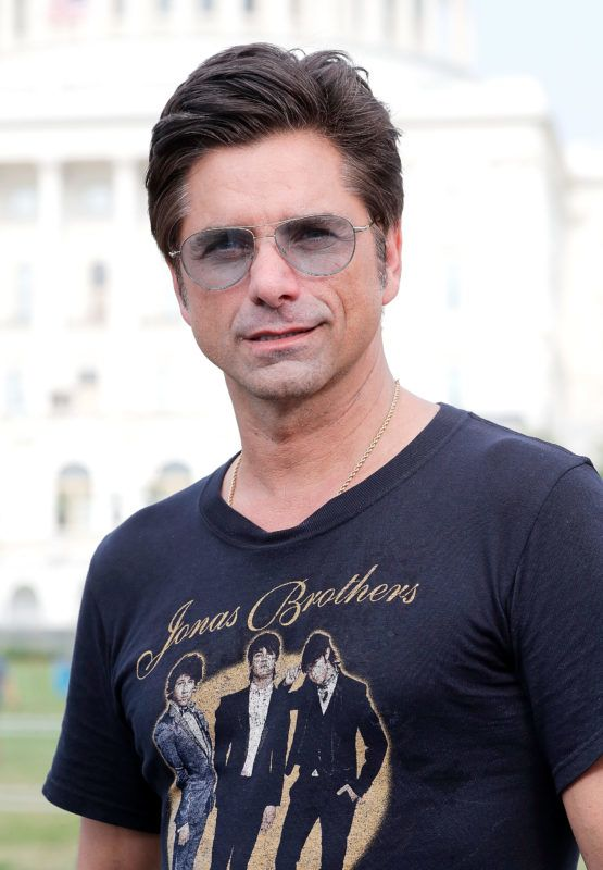 WASHINGTON, DC - JULY 03:  Emmy Award-nominated actor, producer and host John Stamos at the 2018 A Capitol Fourth rehearsals at U.S. Capitol, West Lawn on July 3, 2018 in Washington, DC.  (Photo by Paul Morigi/Getty Images for Capital Concerts Inc.)