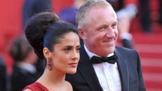 """CANNES, FRANCE - MAY 14:  Actress Salma Hayek and  Francois-Henri Pinault attends the """"IL Gattopardo"""" Premiere at the Palais des Festivals during the 63rd Annual Cannes Film Festival on May 14, 2010 in Cannes, France.  (Photo by Pascal Le Segretain/Getty Images)"""