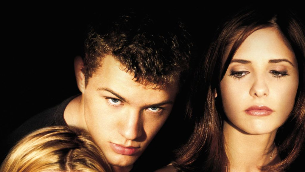 May 05, 1999; Hollywood, CA, USA; Actors REESE WITHERSPOON, RYAN PHILLIPPE and SARAH MICHELLE GELLAR star in the romantic thriller 'Cruel Intentions.'