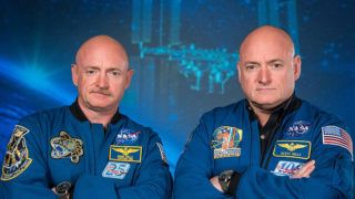 Recent photo released by NASA shows former astronaut Scott Kelly (R), who was the Expedition 45/46 commander during his one-year mission aboard the International Space Station, along with his twin brother, former astronaut Mark Kelly (L). - The Twins Study, by the Journal Science, is helping scientists better understand the impacts of spaceflight on the human body through the study of identical twins. Retired astronaut Scott Kelly spent 340 days in low-Earth orbit aboard the International Space Station while retired astronaut Mark Kelly, his identical twin, remained on Earth. The twins' genetic similarity provided scientists with a reduced number of variables and an ideal control group, both important to scientific investigation. (Photo by Robert MARKOWITZ / NASA / AFP)