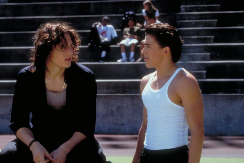 10 Things I Hate About You  Year : 1999 Director : Gil Junger Heath Ledger, Andrew Keegan