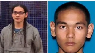 "These two handout photographs obtained April 29, 2019 from the Federal Bureau of Investigation (FBI) show Mark Steven Domingo, 26, a US Army veteran who was allegedly plotting a large-scale terror attack near Los Angeles as revenge for the recent mass shootings in Christchurch, New Zealand, has been arrested, authorities said Monday, April 29, 2019. - Mark Steven Domingo, who had combat experience in Afghanistan and professed to be Muslim, faces federal terror-related charges for plotting to detonate an improvised explosive device (IED) at a white nationalist rally in Long Beach this past weekend with the aim of causing mass casualties, officials said. (Photo by Handout / FBI / AFP) / == RESTRICTED TO EDITORIAL USE  / MANDATORY CREDIT:  ""AFP PHOTO /  FBI "" / NO MARKETING / NO ADVERTISING CAMPAIGNS /  DISTRIBUTED AS A SERVICE TO CLIENTS  =="