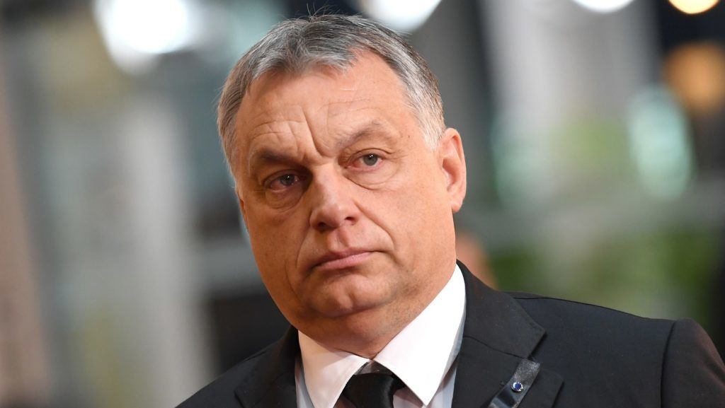Hungarian President Viktor Orban participates in the European obsequies for late former chancellor Helmut Kohl at the European Parliament in Strasbourg, France, 1 July 2017. Kohl died on 16 June 2017 in the age of 87. The chancellor of the German unity held office for 16 years. Photo: Sven Hoppe/dpa