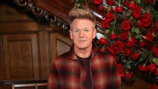 LONDON, ENGLAND - JANUARY 06:  Gordon Ramsay attends the Kent & Curwen presentation during London Fashion Week Men's January 2019 at Two Temple Place on January 6, 2019 in London, England.  (Photo by Darren Gerrish/Darren Gerrish/WireImage)
