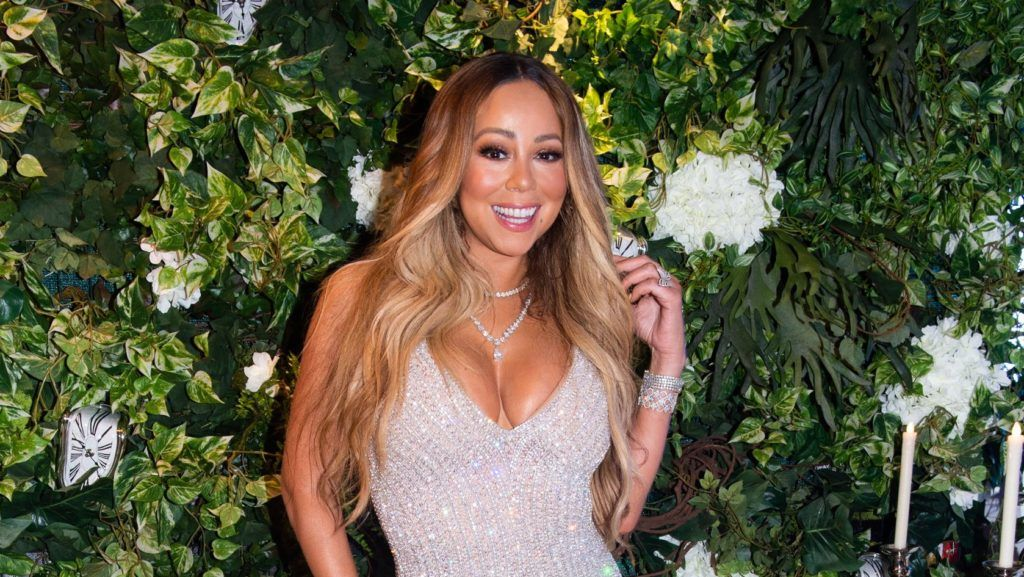 SAINT BARTHELEMY, FWI - DECEMBER 31: Mariah Carey attends  Nikki Beach Saint Barth welcomes global superstar Mariah Carey as host performer for New Year's Eve 2018 soirée on December 31, 2018 in Saint Barthelemy, FWI. (Photo by Romain Maurice/Getty Images)