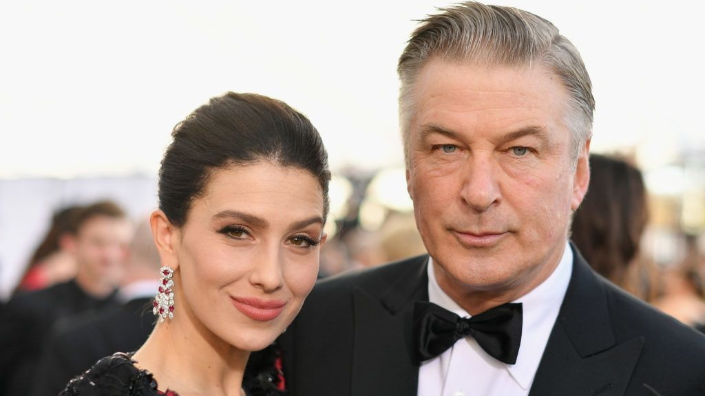 LOS ANGELES, CA - JANUARY 27:  Hilaria Baldwin (L) and Alec Baldwin attend the 25th Annual Screen ActorsGuild Awards at The Shrine Auditorium on January 27, 2019 in Los Angeles, California. 480543  (Photo by Mike Coppola/Getty Images for Turner)