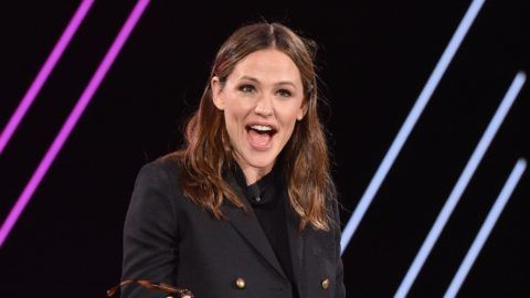DANA POINT, CA - FEBRUARY 07: Jennifer Garner speaks onstage during The 2019 MAKERS Conference at Monarch Beach Resort on February 7, 2019 in Dana Point, California.  (Photo by Vivien Killilea/Getty Images for MAKERS)