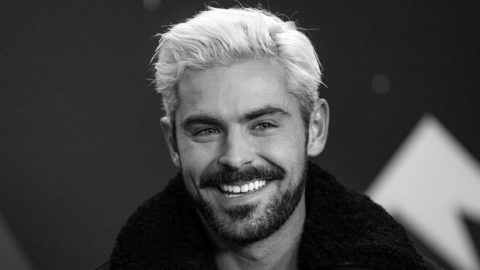 PARK CITY, UTAH - JANUARY 26: (EDITORS NOTE: Image has been converted to black and white.)   Zac Efron of 'Extremely Wicked, Shockingly Evil and Vile' attends The IMDb Studio at Acura Festival Village on location at The 2019 Sundance Film Festival - Day 2 on January 26, 2019 in Park City, Utah.  (Photo by Rich Polk/Getty Images for IMDb)