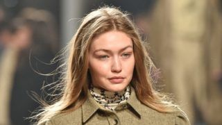 PARIS, FRANCE - FEBRUARY 28: Gigi Hadid walks the runway during the Isabel Marant show as part of the Paris Fashion Week Womenswear Fall/Winter 2019/2020 on February 28, 2019 in Paris, France. (Photo by Peter White/Getty Images)
