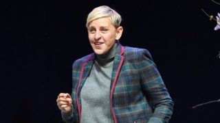 TORONTO, ONTARIO - MARCH 03: Comedian and TV Personality Ellen DeGeneres attends a question and answer session for her Canadian fans at Scotiabank Arena on March 03, 2019 in Toronto, Canada. (Photo by George Pimentel/Getty Images for TINEPARK)