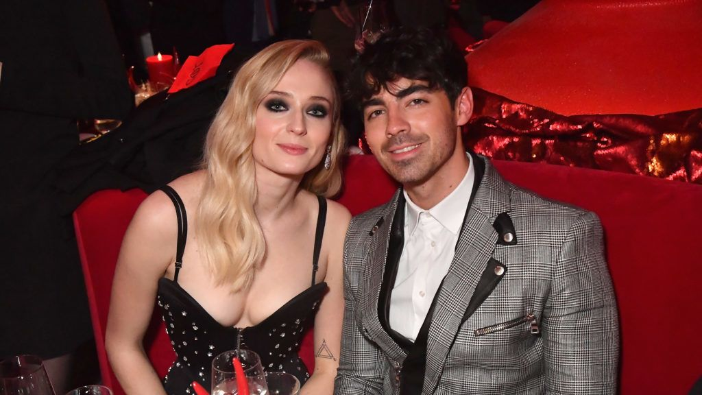 """NEW YORK, NY - APRIL 03:  Sophie Turner and Joe Jonas attend the """"Game Of Thrones"""" Season 8 NY Premiere After Party on April 3, 2019 in New York City.  (Photo by Jeff Kravitz/FilmMagic for HBO)"""