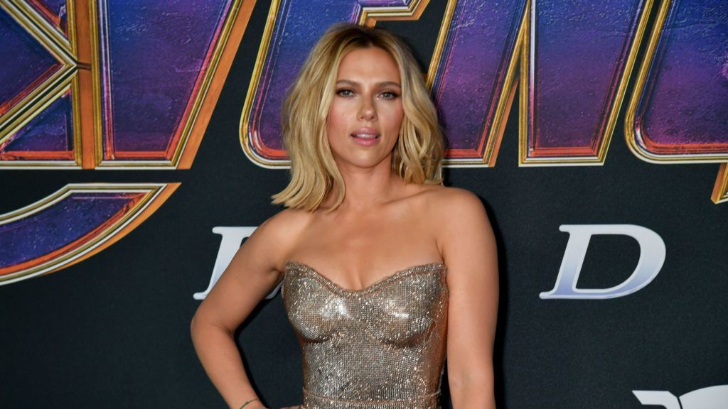 "LOS ANGELES, CALIFORNIA - APRIL 22:  Scarlett Johansson attends the World Premiere of Walt Disney Studios Motion Pictures ""Avengers: Endgame"" at Los Angeles Convention Center on April 22, 2019 in Los Angeles, California. (Photo by Jeff Kravitz/FilmMagic)"