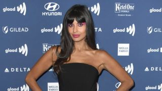 BEVERLY HILLS, CALIFORNIA - MARCH 28: Jameela Jamil attends the 30th Annual GLAAD Media Awards at The Beverly Hilton Hotel on March 28, 2019 in Beverly Hills, California. (Photo by Frazer Harrison/Getty Images)