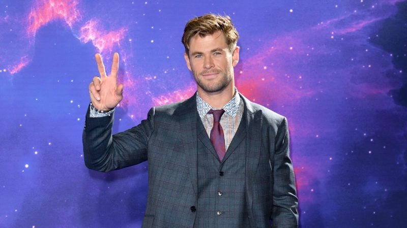"""LONDON, ENGLAND - APRIL 10: Chris Hemsworth attends the """"Avengers Endgame"""" UK Fan Event at Picturehouse Central on April 10, 2019 in London, England. (Photo by Karwai Tang/WireImage)"""