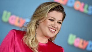 """BEVERLY HILLS, CALIFORNIA - APRIL 13: Kelly Clarkson attends STX Entertainment's """"UglyDolls"""" Photo Call at The Four Seasons Hotel on April 13, 2019 in Beverly Hills, California. (Photo by Axelle/Bauer-Griffin/FilmMagic)"""