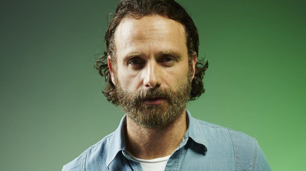 SAN DIEGO, CA - JULY 26:  Actor Andrew Lincoln poses for a portrait at the Getty Images Portrait Studio powered by Samsung Galaxy at Comic-Con International 2014 at Hard Rock Hotel San Diego on July 26, 2014 in San Diego, California.  (Photo by MJ Kim/Getty Images for Samsung)
