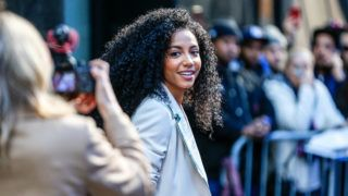 Cheslie Kryst Miss USA 2019 is seen leaving Good Morning America studio in New York this Monday, 06 (Photo: Vanessa Carvalho/Brazil Photo Press)