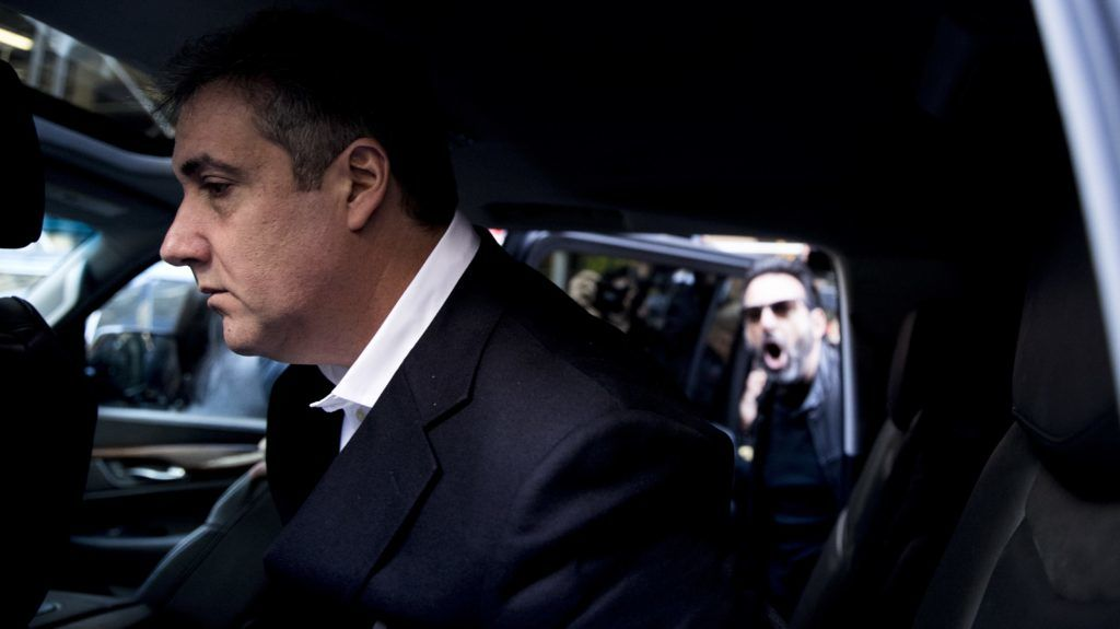 NEW YORK, USA - MAY 6: Michael Cohen, the former lawyer for US President Donald Trump, leaves his apartment to begin serving a three-year sentence at a federal prison in New York, United States on May 6, 2019. Atilgan Ozdil / Anadolu Agency