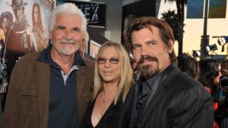 """HOLLYWOOD - JUNE 17:  Actor James Brolin, Singer Barbra Streisand and Actor Josh Brolin attend the """"Jonah Hex"""" Los Angeles premiere held at ArcLight Cinemas Cinerama Dome on June 17, 2010 in Hollywood, California.  (Photo by Lester Cohen/WireImage)"""