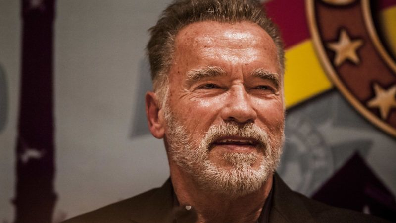 """Arnold Schwarzenegger in the """"Arnold Classic Europe"""" 2018 multisport competition in Barcelona, Spain on 28 September 2018. (Photo by Celestino Arce/NurPhoto via Getty Images)"""