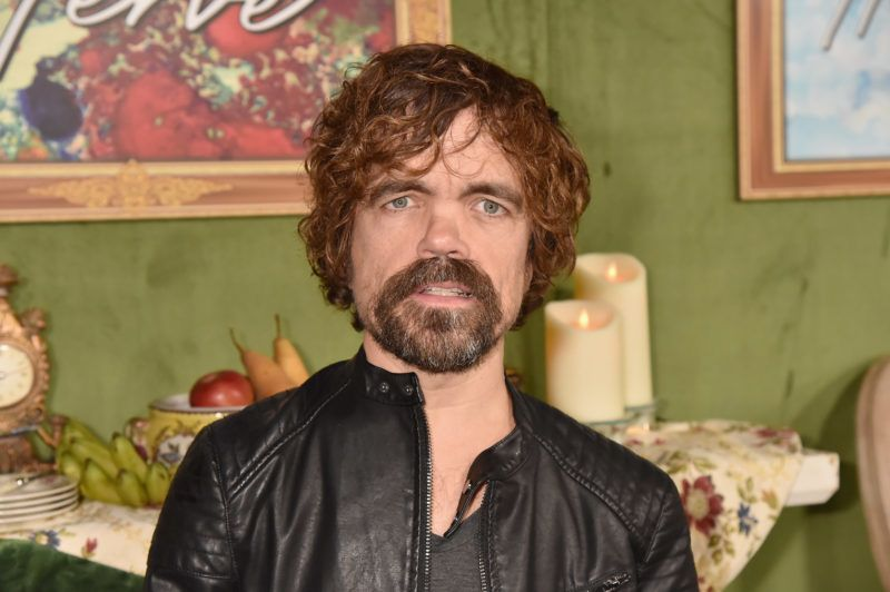 HOLLYWOOD, CA - OCTOBER 04:  Peter Dinklage attends the Los Angeles Premiere Of HBO Films MY DINNER WITH HERVE at Paramount Studios on October 4, 2018 in Hollywood, California.  (Photo by Jeff Kravitz/FilmMagic for HBO  )