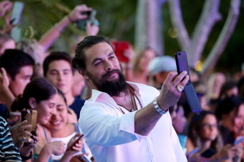 GOLD COAST, AUSTRALIA - DECEMBER 18: Jason Momoa attends the Australian premiere of Aquaman on December 18, 2018 in Gold Coast, Australia. (Photo by Chris Hyde/Getty Images)